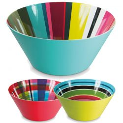 Coloured XXL Salad bowl Remember