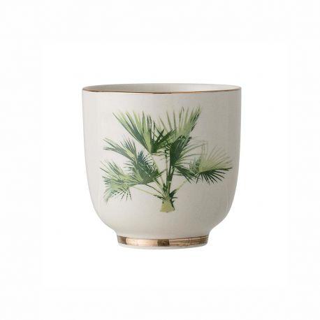 Tasse à café en porcelaine Aruba Bloomingville
