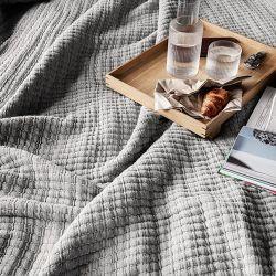 Couvre-lit gris Daze Ferm Living