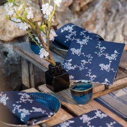 Serviettes intissé Kimono Françoise Paviot