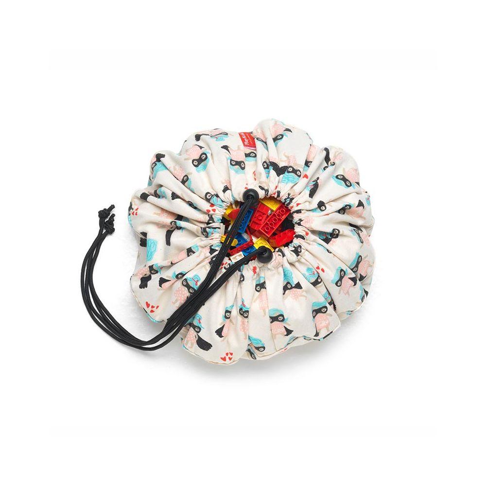 Play and go mini Supergirl : Petit sac de rangement jouets en tissu