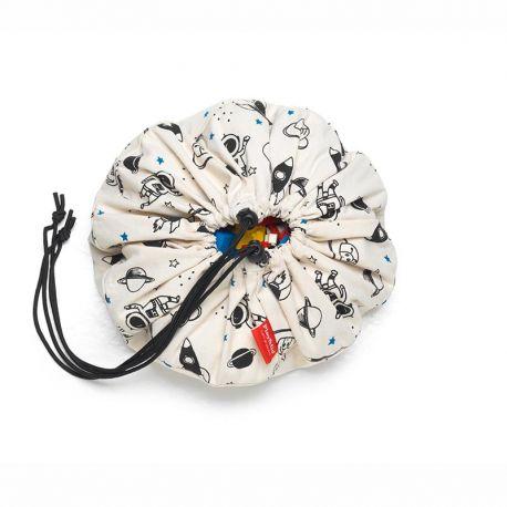 Fabric storage bag for child