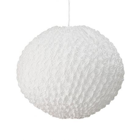 Bloomingville poetic white round pendant