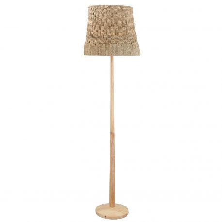 Lampe sur pied rotin Bloomingville