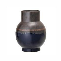 Vase en grès Blue Bloomingville