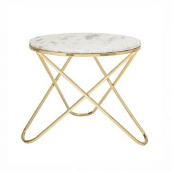 Table basse en marbre Nuevo Bloomingville