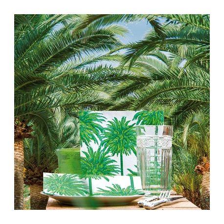 Palm non-woven napkins Françoise Paviot
