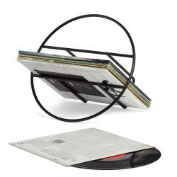 Hoop metal magazine rack Umbra