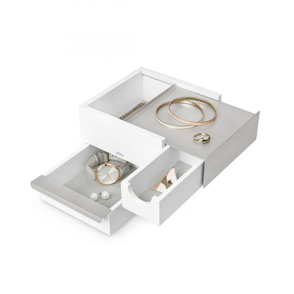 Stowit Mini Alu Jewelry Box Umbra