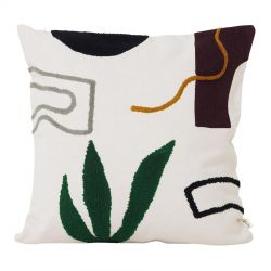Ferm Living Cacti Mirage square cushion