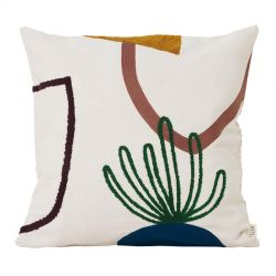 Ferm Living Island Mirage square cushion