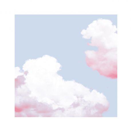 Cloud non-woven napkins Françoise Paviot