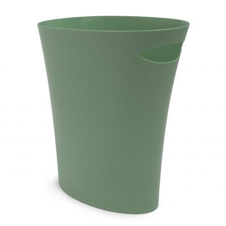 Corbeille à papier bureau verte