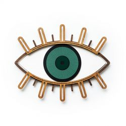 Wall decoration Green eye Umasqu