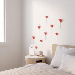 Déco murale Tulipes Corail Umbra