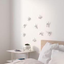 Déco murale Colibris Blanc Umbra