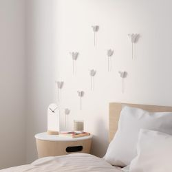 Wall decoration White Tulips Umbra