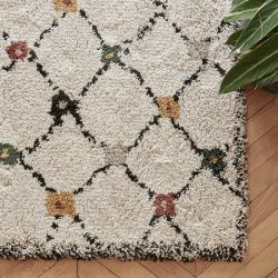 Green Cabochon Berber rug Edito