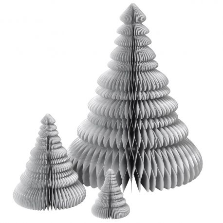 3 sapins de Noel Origami Broste Copenhagen