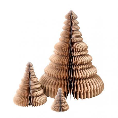 3 Christmas Trees Origami Broste Copenhagen