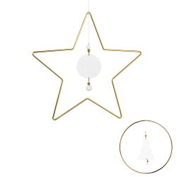 Hanging decoration Circle or Star