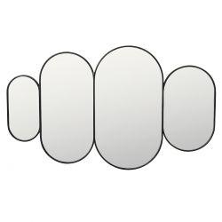 Miroir cadre noir Pelle Broste Copenhagen
