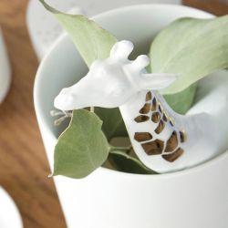 Vase en porcelaine Girafe Räder