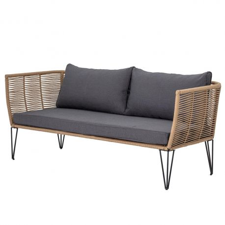 Mundo Sofa beige and grey Bloomingville