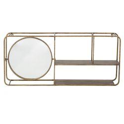 Etagère Dorée Miroir Bloomingville