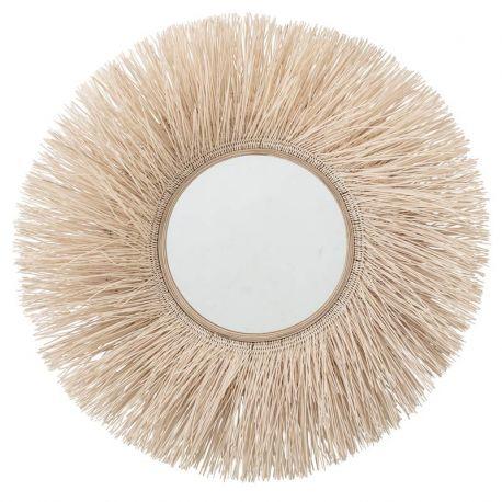 Large round sun mirror Bloomingville