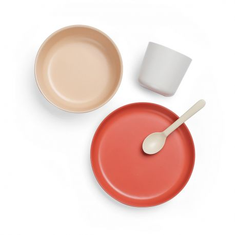 Plain Children's Tableware Set Ekobo