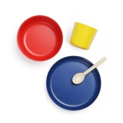 Plain Children's Tableware Set Ekobo