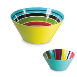 Coloured Salad bowl Remember