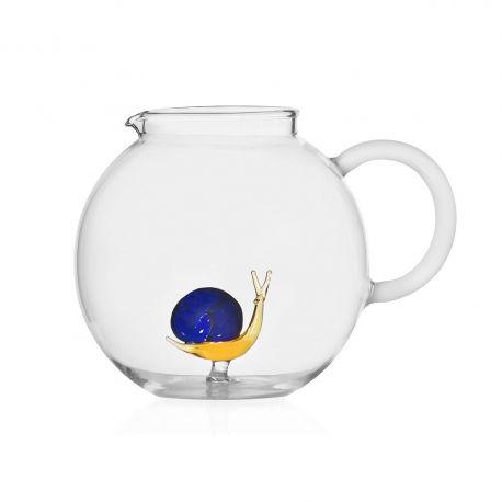 Snail Glass Water Jug Ichendorf