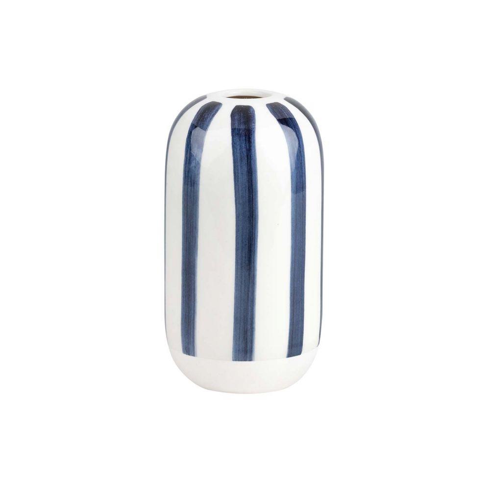 Rader Set 4 MINI VASE Flower Pots WHITE /& BLUE Ceramic Räder