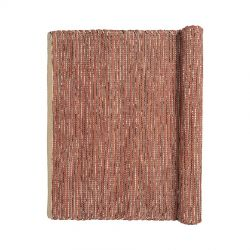 Magda Terracotta Cotton Rug Broste