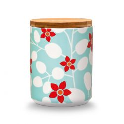 Primavera Porcelain Canister Remember