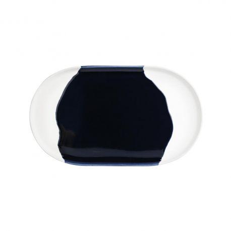 Plateau ovale Bleu Encre Räder