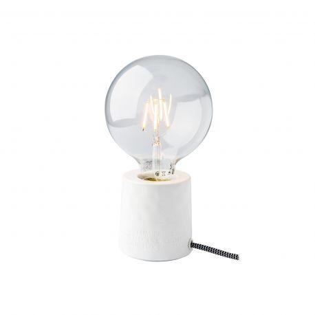Lampe de chevet blanche Räder