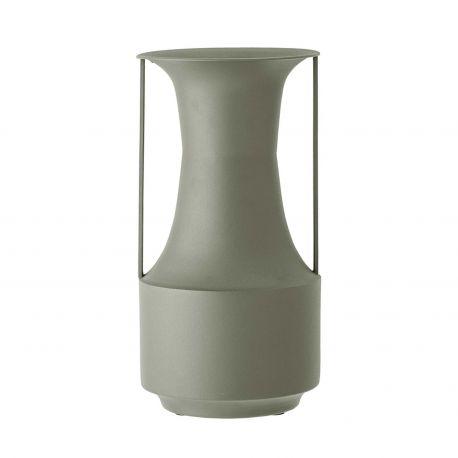 Irati Green Metal Vase Bloomingville