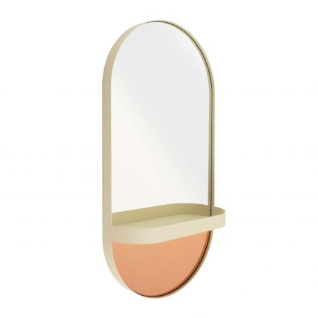 Oval wall mirror Remember