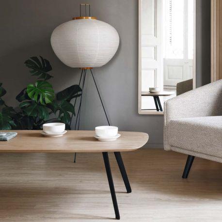 Table basse en bois de chêne Solapa