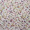 Tilleul Prune Coated tablecloth Fleur du Soleil