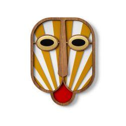 Modern African Mask 39 Umasqu