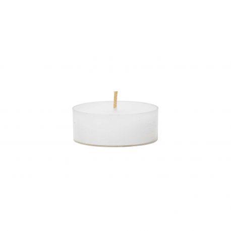 Grandes bougies chauffe plat blanches Broste Copenhagen