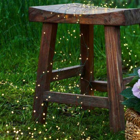 Guirlande blanche solaire Sirius