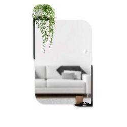 Alcove Mirror With Shelf Umbra