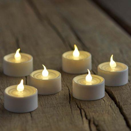Lot 4 bougies à pile Sirius