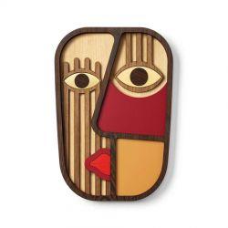 Wood Abstrasso 7 Mask Umasqu