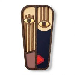 Wood Abstrasso 8 Mask Umasqu